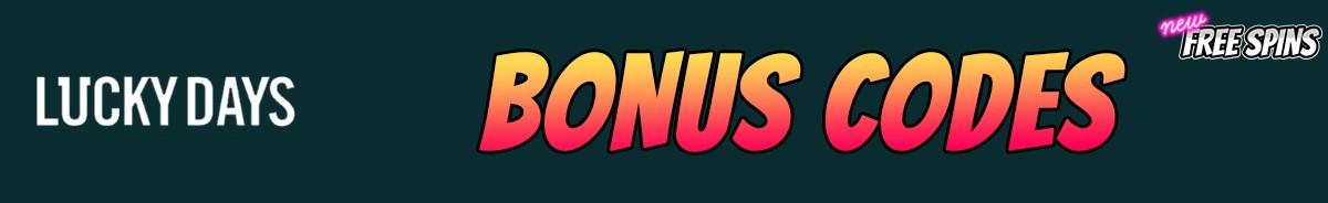 Lucky Days Casino-bonus-codes