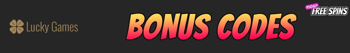 Lucky Games-bonus-codes