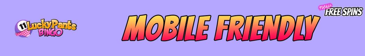 Lucky Pants Bingo Casino-mobile-friendly