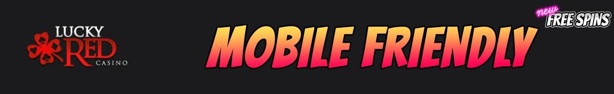 LuckyRed Casino-mobile-friendly