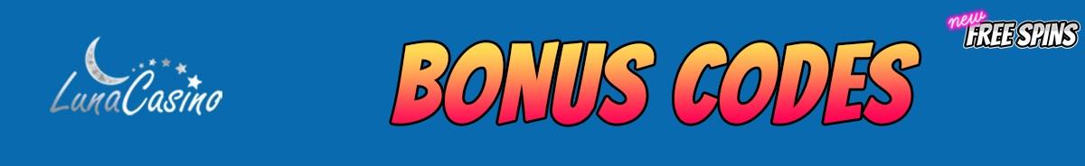 Luna Casino-bonus-codes