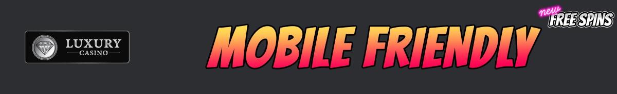 Luxury Casino-mobile-friendly