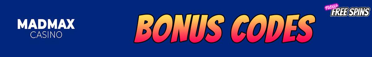 MadMax Casino-bonus-codes