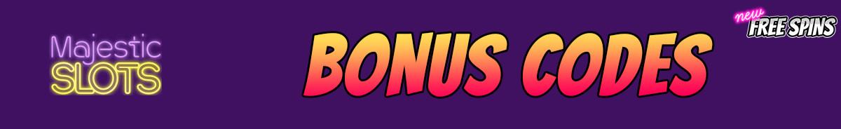 Majestic Slots-bonus-codes