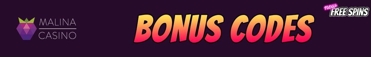 Malina Casino-bonus-codes