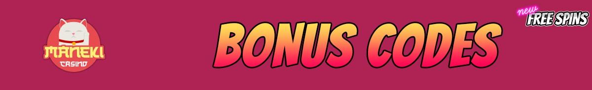 Maneki-bonus-codes