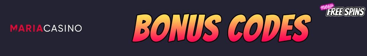 Maria Casino-bonus-codes