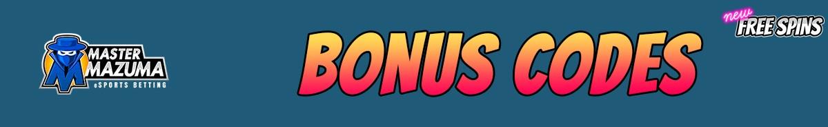 Master Mazuma-bonus-codes