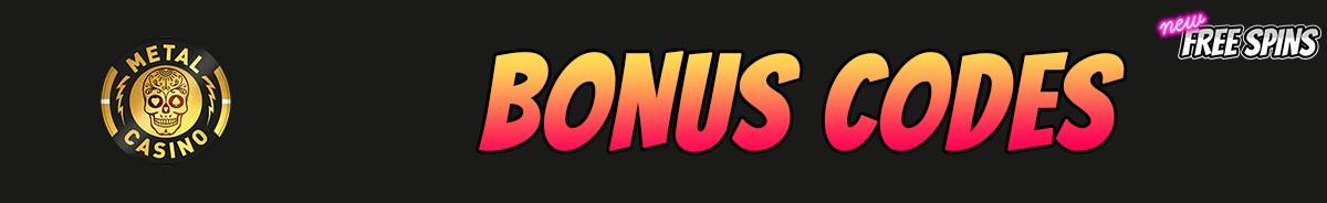 Metal Casino-bonus-codes