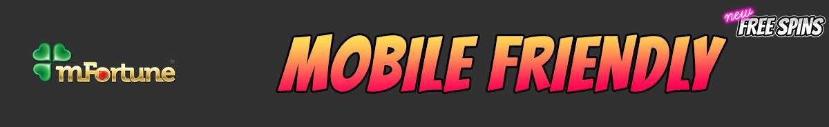 mFortune Casino-mobile-friendly