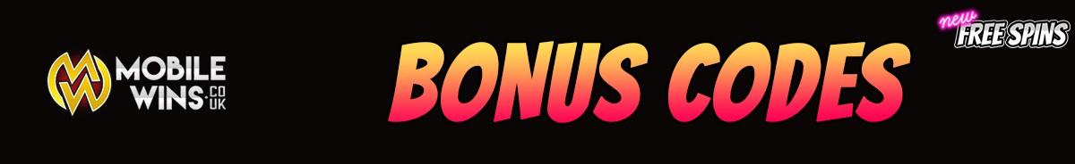 Mobile Wins Casino-bonus-codes