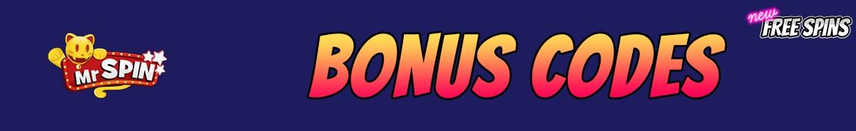 Mr Spin Casino-bonus-codes