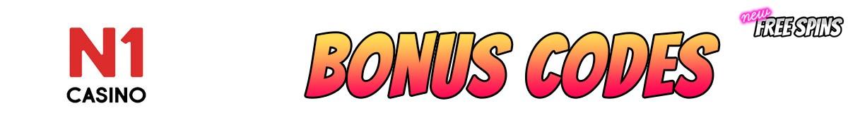 N1 Casino-bonus-codes