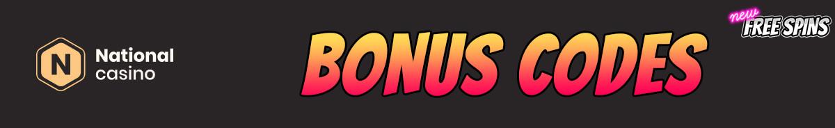 National Casino-bonus-codes