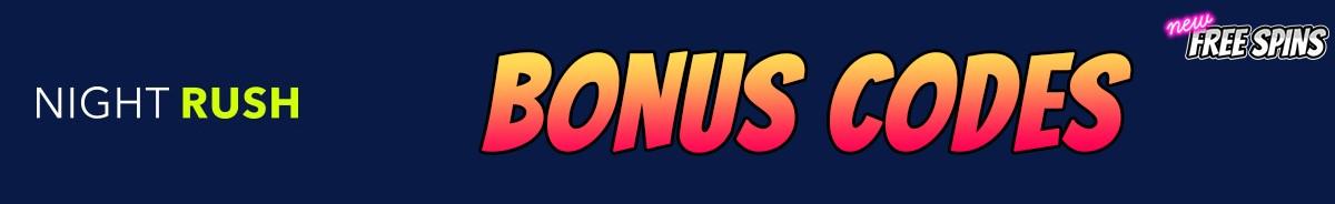 NightRush Casino-bonus-codes