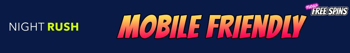 NightRush Casino-mobile-friendly