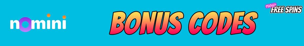 Nomini-bonus-codes