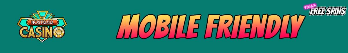 Nostalgia Casino-mobile-friendly