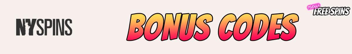 NYSpins Casino-bonus-codes