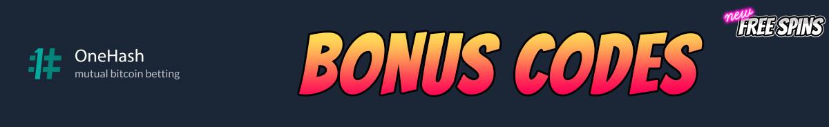 OneHash-bonus-codes