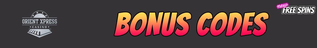 OrientXpress Casino-bonus-codes