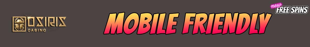 Osiris Casino-mobile-friendly