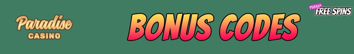 Paradise Casino-bonus-codes