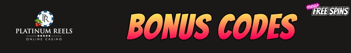 Platinum Reels-bonus-codes
