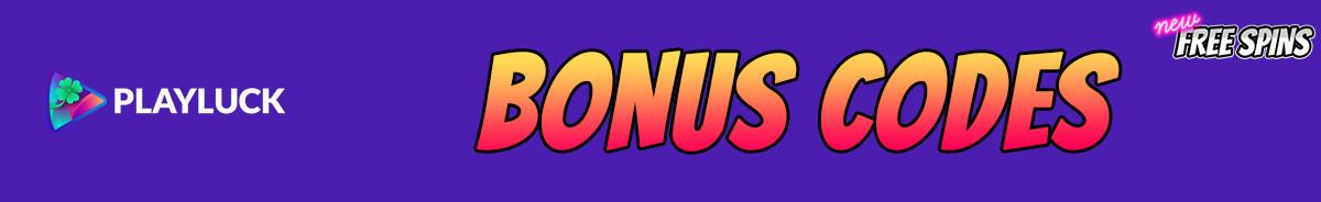 Playluck-bonus-codes