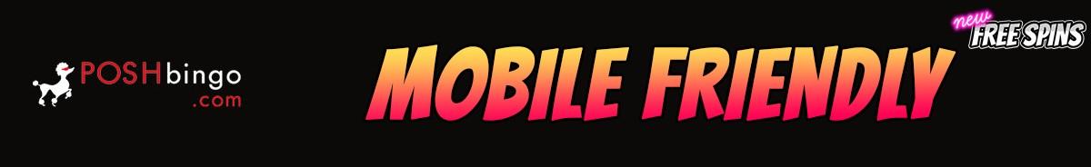 Posh Bingo Casino-mobile-friendly