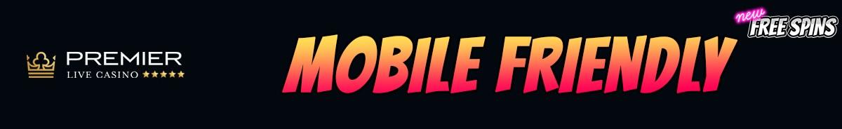 Premier Live Casino-mobile-friendly