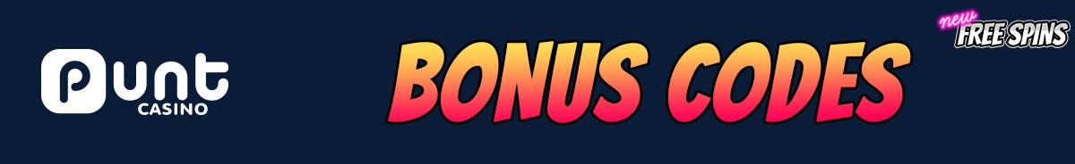 Punt Casino-bonus-codes
