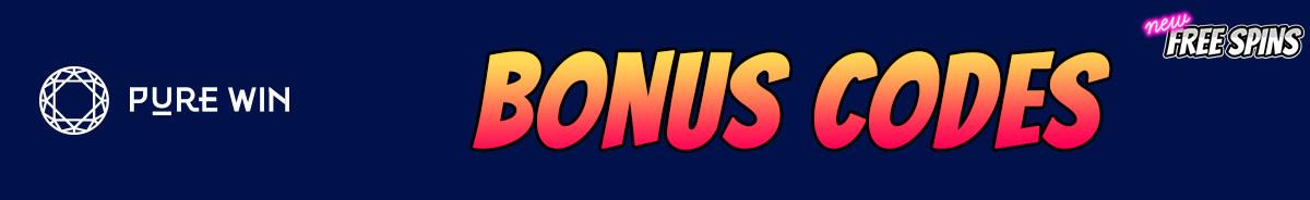 Pure Win-bonus-codes