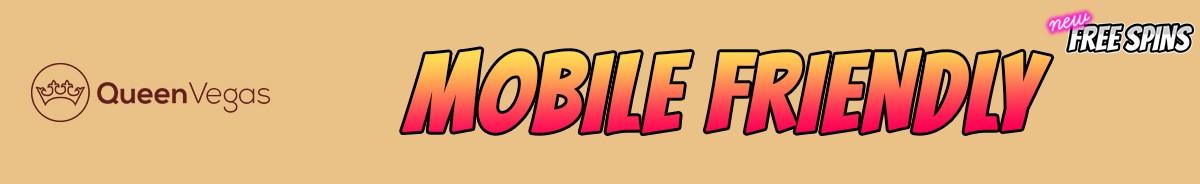 Queen Vegas Casino-mobile-friendly