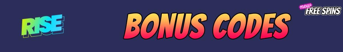 Rise Casino-bonus-codes