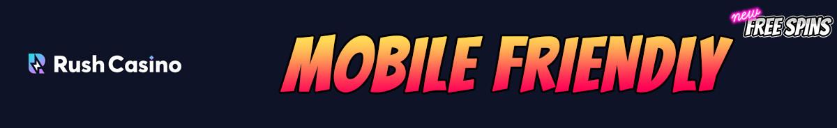 Rush Casino-mobile-friendly