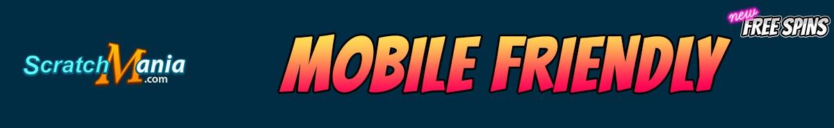 ScratchMania Casino-mobile-friendly