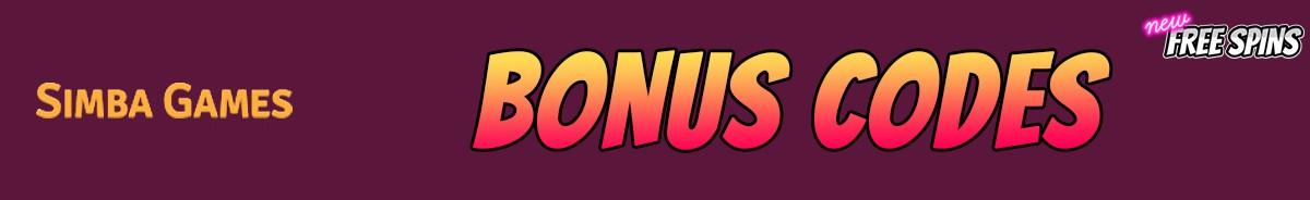 SimbaGames-bonus-codes