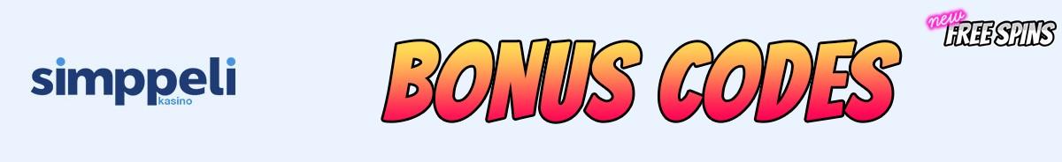 Simppeli-bonus-codes