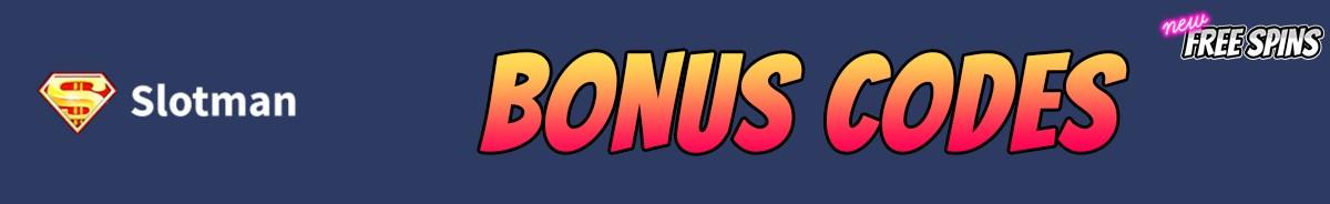 Slotman-bonus-codes