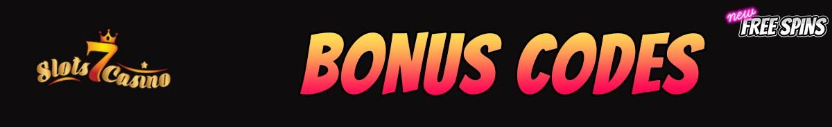 Slots 7 Casino-bonus-codes