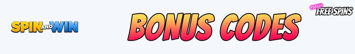 Spin and Win Casino-bonus-codes