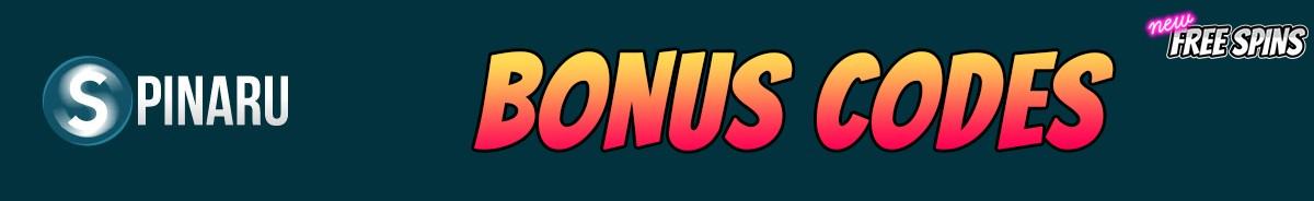 Spinaru Casino-bonus-codes