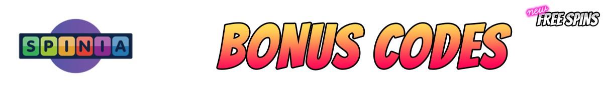 Spinia Casino-bonus-codes