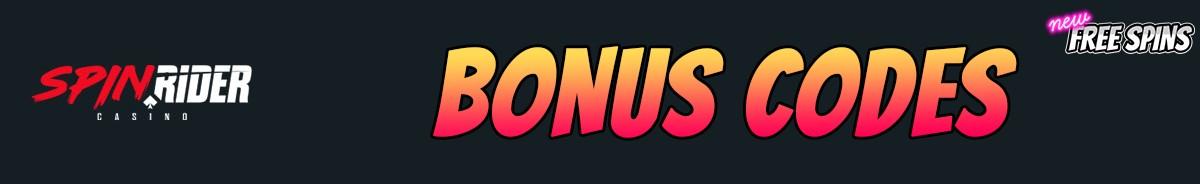 SpinRider Casino-bonus-codes