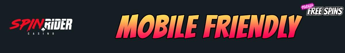 SpinRider Casino-mobile-friendly