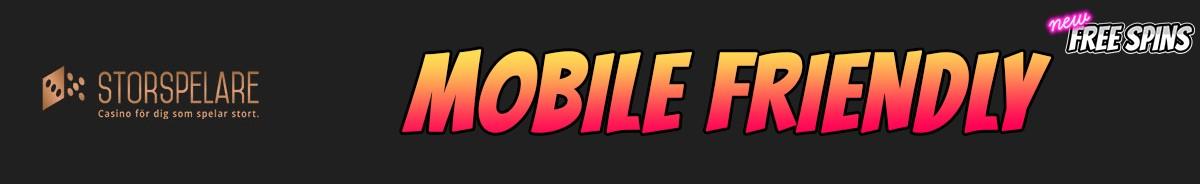 Storspelare Casino-mobile-friendly