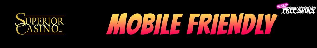 Superior Casino-mobile-friendly