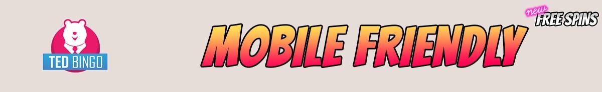 Ted Bingo-mobile-friendly