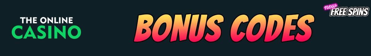 TheOnlineCasino-bonus-codes